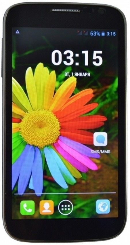 Мобильный телефон Karbonn KS606+ Black