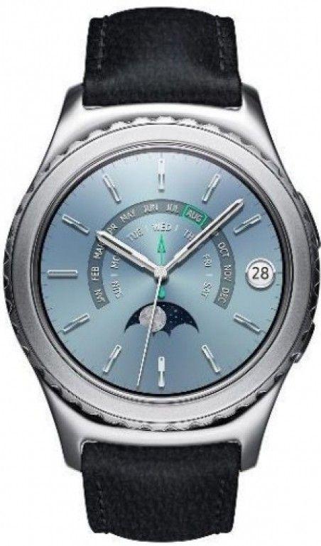 Смарт часы Samsung Galaxy Gear S2 Classic Premium Edition (SM-R7320WDASEK) Platinum