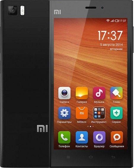 Мобильный телефон Xiaomi Mi3 16Gb Black