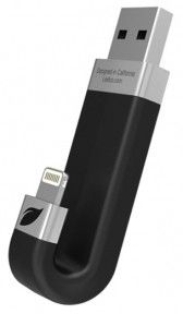 USB флеш-накопитель Leef iBridge Lightning/USB 16Gb Black