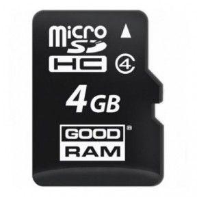 Карта памяти GOODRAM 4GB micro SD Class 4 (M400-0040R11)