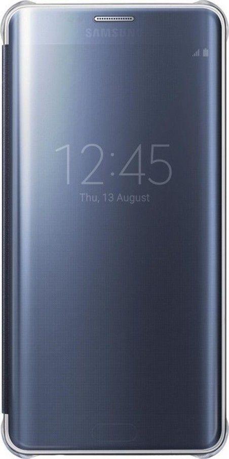 Чехол Samsung Clear View Cover для Samsung Galaxy S6 edge+ Black (EF-ZG928CBEGRU)