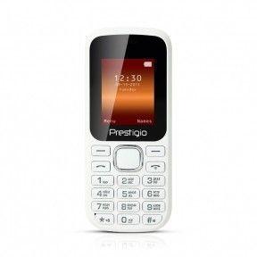 Мобильный телефон Prestigio 1180 DS White