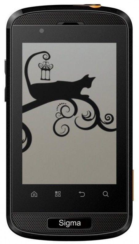 Мобильный телефон Sigma mobile X-treme PQ11 Black-Orange