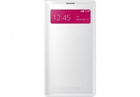 Чехол Samsung S View Wallet mini window EF-EN910FTEGRU White для Galaxy Note 4 N910