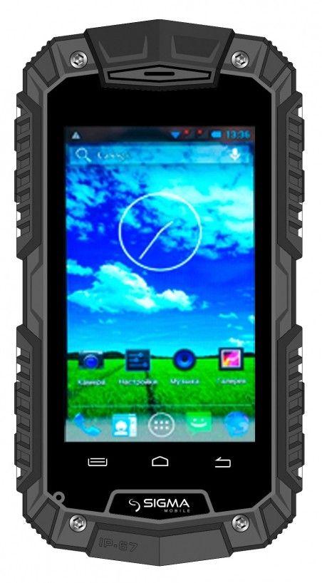 Смартфон Sigma mobile X-treme PQ15 Black