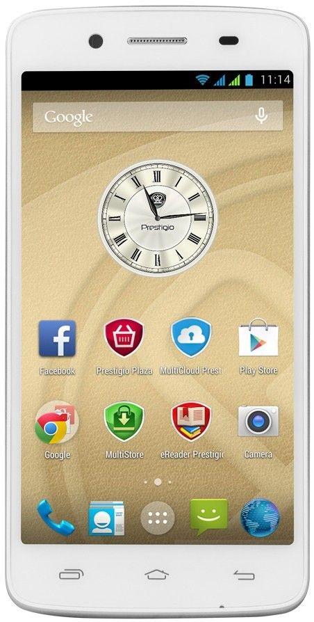 Мобильный телефон Prestigio MultiPhone 5507 Duo White