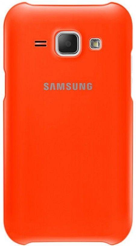 Накладка Samsung EF-PJ100B для Samsung Galaxy J1 J100H Orange (EF-PJ100BOEGRU)