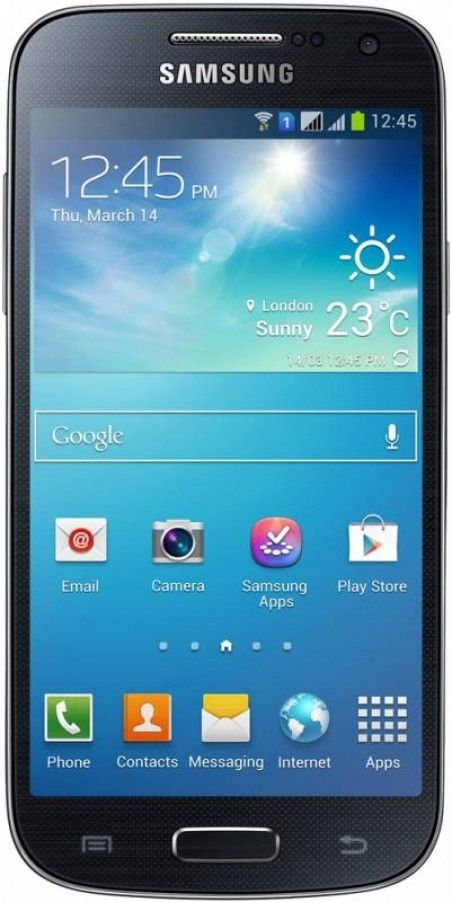 Мобильный телефон Samsung I9192 Galaxy S4 Mini Duos Black Mist