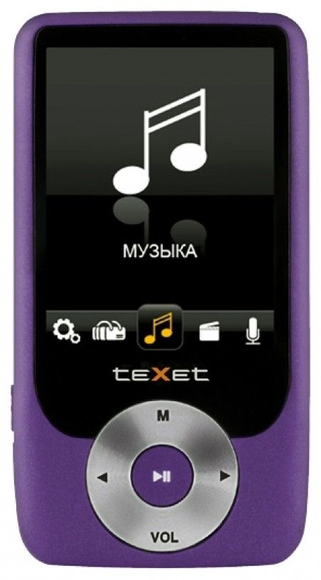 MP3-плеер Texet T-79 8GB Purple