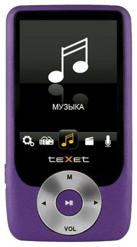 MP3-плеер Texet T-79 8GB Purple