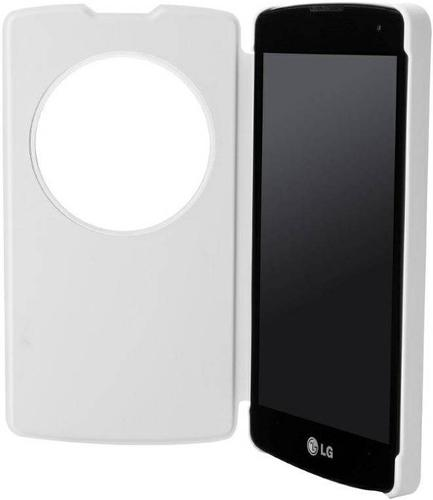 Чехол LG QuickWindow для LG L70+ Fino White (CCF-550.AGEUWH)
