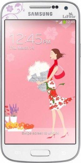 Мобильный телефон Samsung I9192 Galaxy S4 Mini Duos White La Fleur