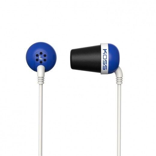 Навушники Koss The Plug Blue (185357)