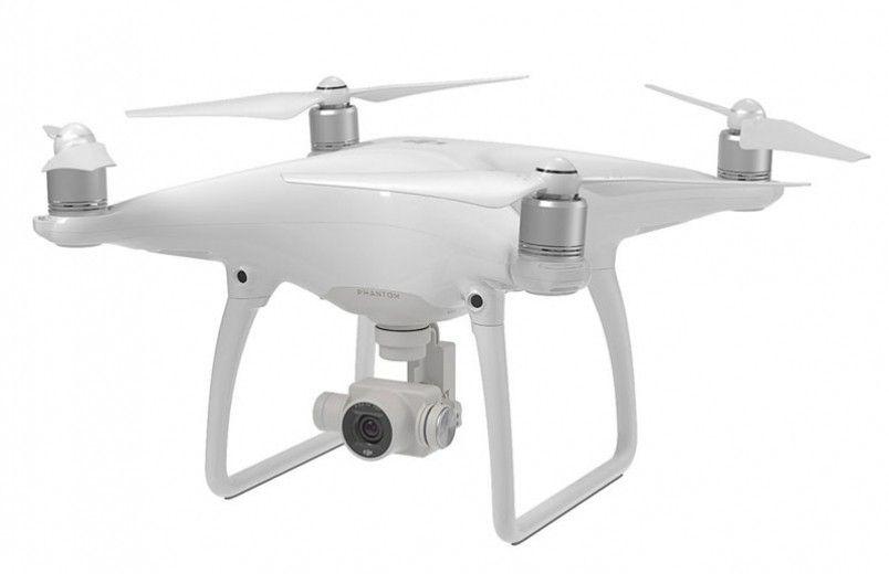 Квадрокоптер с камерой DJI Phantom 4