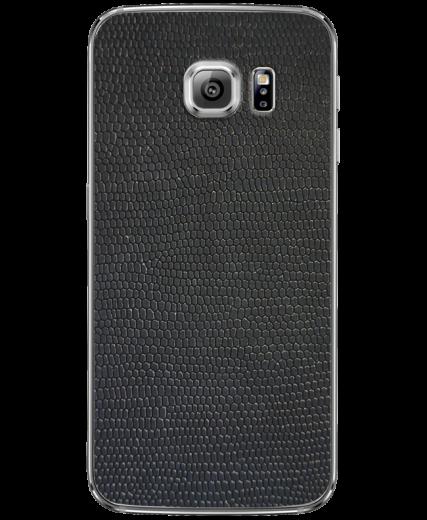 Кожаная наклейка Black Suede для Samsung Galaxy S6 edge + (G928)