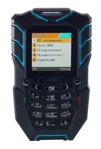 Мобильный телефон Sigma mobile X-treme AT67 Kantri Blue/Black