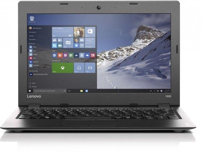 Ноутбук Lenovo IdeaPad 100S (80R20069UA) Silver-Black 11.6