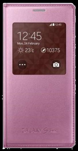 Чехол Samsung для S5 mini EF-CG800BPEGRU Pink