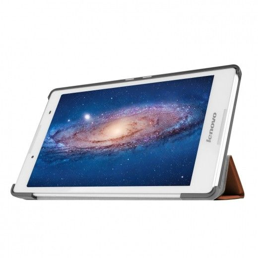 Обложка AIRON Premium для Lenovo Tab 2 A8 Brown