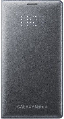 Чехол Samsung LED Flip Wallet для Samsung Galaxy Note 4 N910H Black (EF-NN910BCEGRU)
