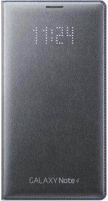 Чехол Samsung LED Flip Wallet для Samsung Galaxy Note 4 N910H Black (EF-NN910BCEGRU)