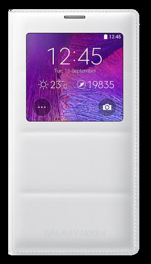 Чехол Samsung S View для Samsung Galaxy Note 4 N910H White (EF-CN910BWEGRU)