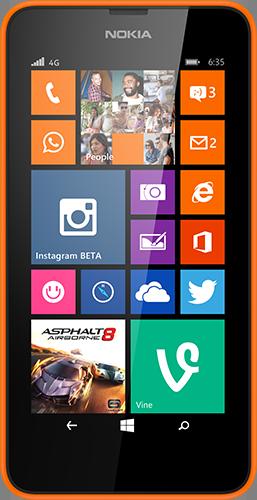 Мобильный телефон Nokia Lumia 630 Dual SIM Orange