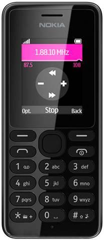 Мобильный телефон Nokia 108 Black