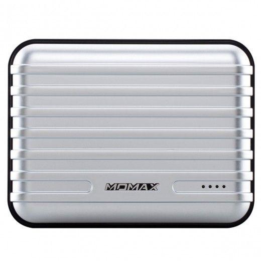 Портативная батарея MOMAX iPower GO+ Luggage External Battery Pack 13200mAh Silver (IP24APS)