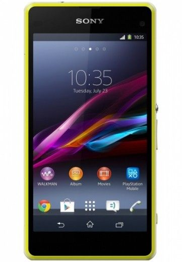Мобильный телефон Sony D5503 Xperia Z1 Compact Lime