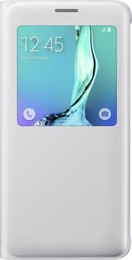 Чехол Samsung S View Cover для Samsung Galaxy S6 edge+ White (EF-CG928PWEGRU)