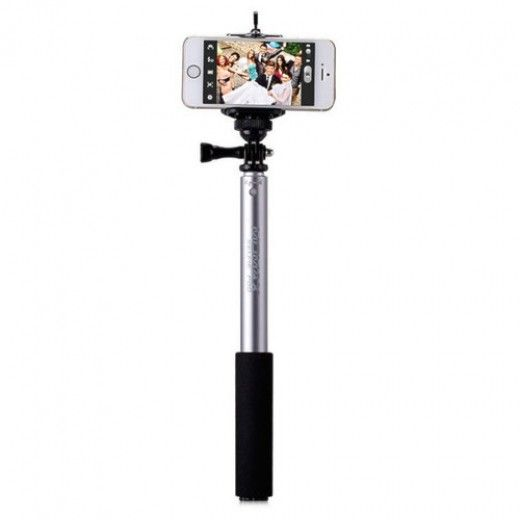 Монопод для селфи MOMAX Selfifit Bluetooth Selfie Pod 90cm Silver (KMS1NS)