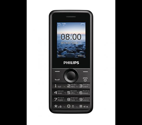Мобильный телефон Philips Xenium E103 Black
