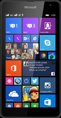 Мобильный телефон Microsoft Lumia 535 DS Black