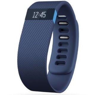 Фитнес-трекер Fitbit Charge HR Large (FB404BUL-EU) Blue