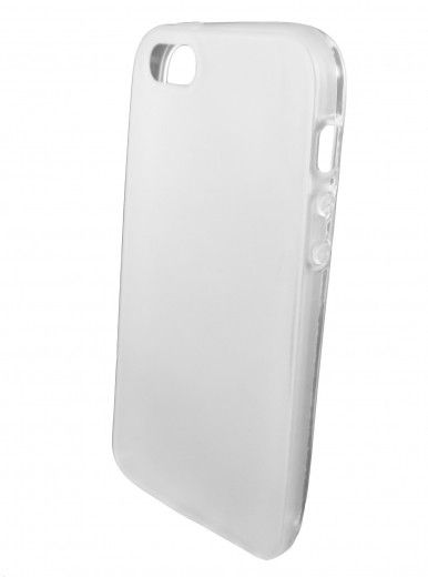 Чехол GlobalCase (пластик) Frosted Cover для iPhone 5 (белый)