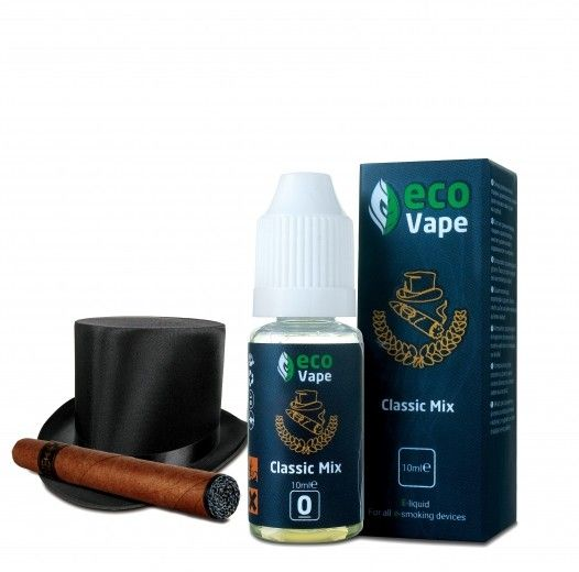 Жидкость для электронных сигарет ECO Vape Classic Mix 0 мг/мл