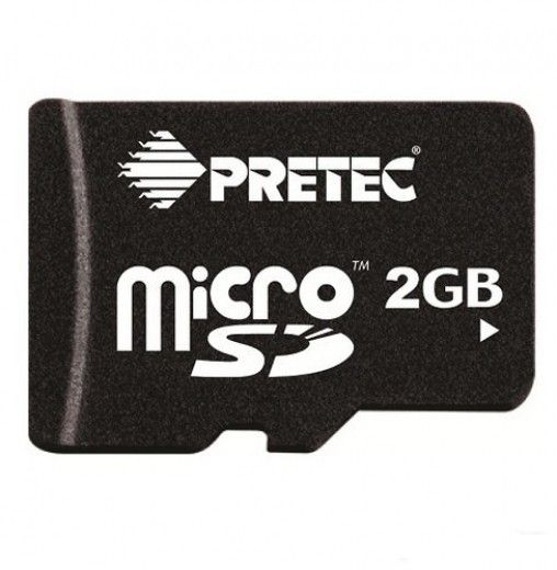 Карта памяти Pretec MicroSD 2GB