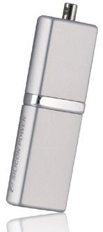USB флеш накопитель Silicon Power LuxMini 710 8GB Silver (SP008GBUF2710V1S)