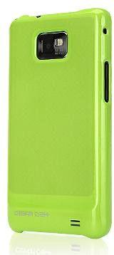 Чехол Design Craft Galaxy S2 Plus Green