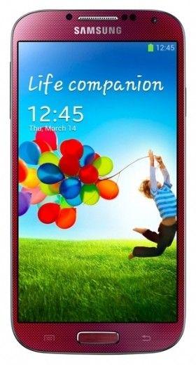 Мобильный телефон Samsung I9500 Galaxy S4 Red