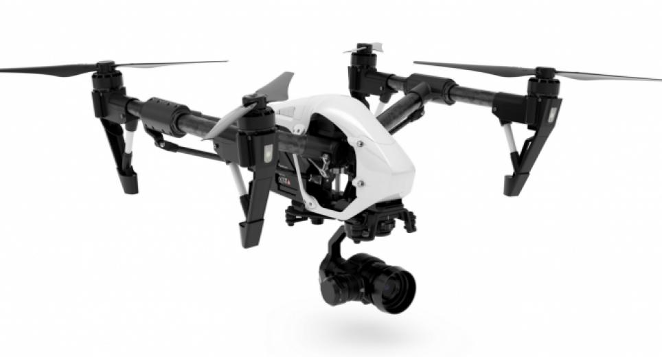 Квадрокоптер с камерой DJI Inspire 1 Pro