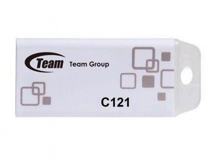 USB флеш накопитель Team C121 4GB Grey (TC12154GW01)