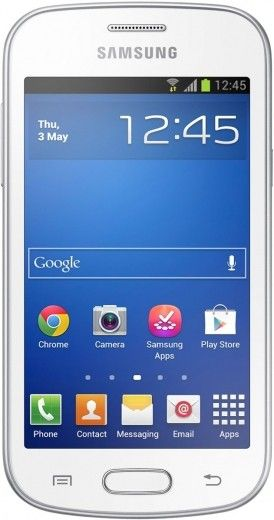 Мобильный телефон Samsung S7390 Galaxy Trend Ceramic White