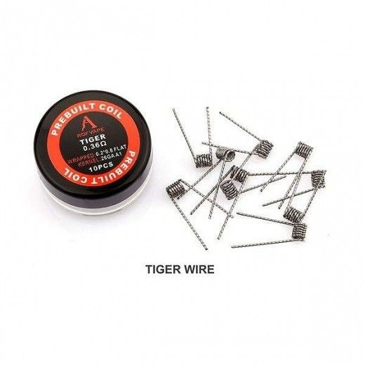 Проволока для спирали Rofvape Prebuild Coils Tiger Wire 0,36 Ом (10pcs)