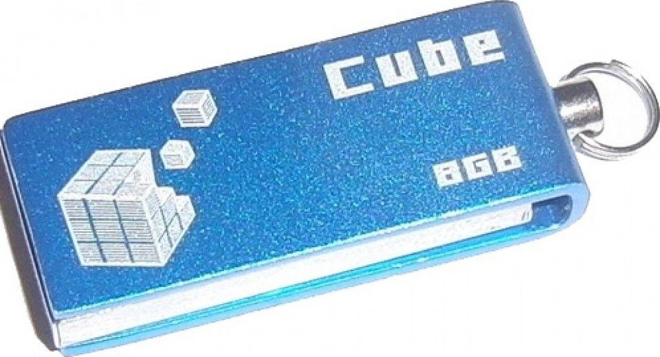 USB флеш накопитель Goodram GOODDRIVE Cube Blue 8GB (PD8GH2GRCUBR9)