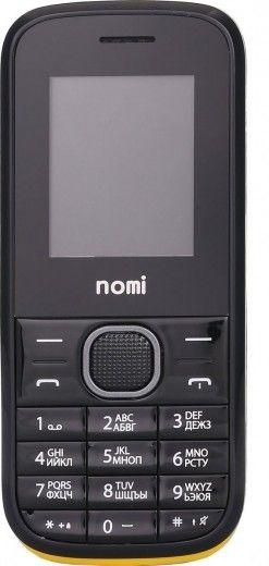 Мобильный телефон Nomi i181 Black-Yellow