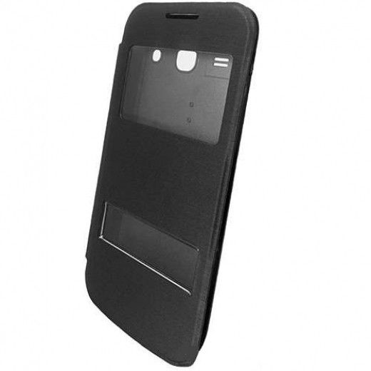 Чехол GlobalCase Body BookCase Callid для Samsung G350 Star Advance Black (1283126463464)