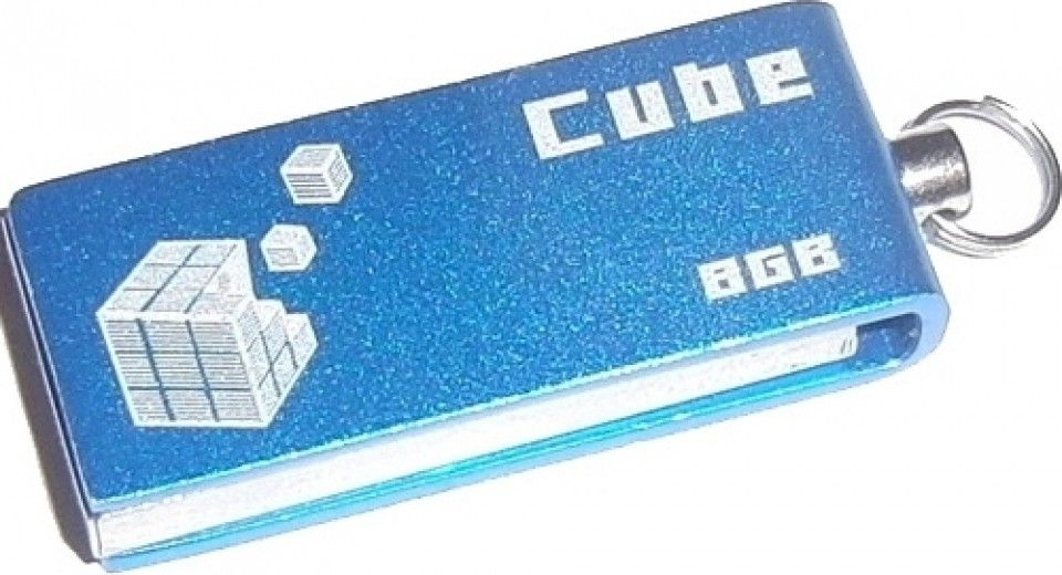 USB флеш накопитель Goodram GOODDRIVE Cube Blue 16GB (PD16GH2GRCUBR9)